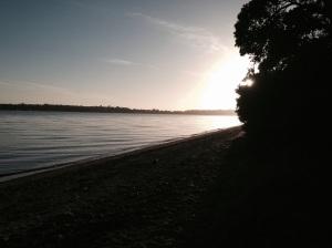 Tahuna at dawn