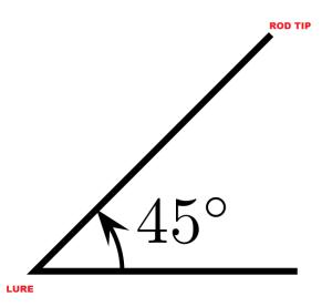 Rod angle image