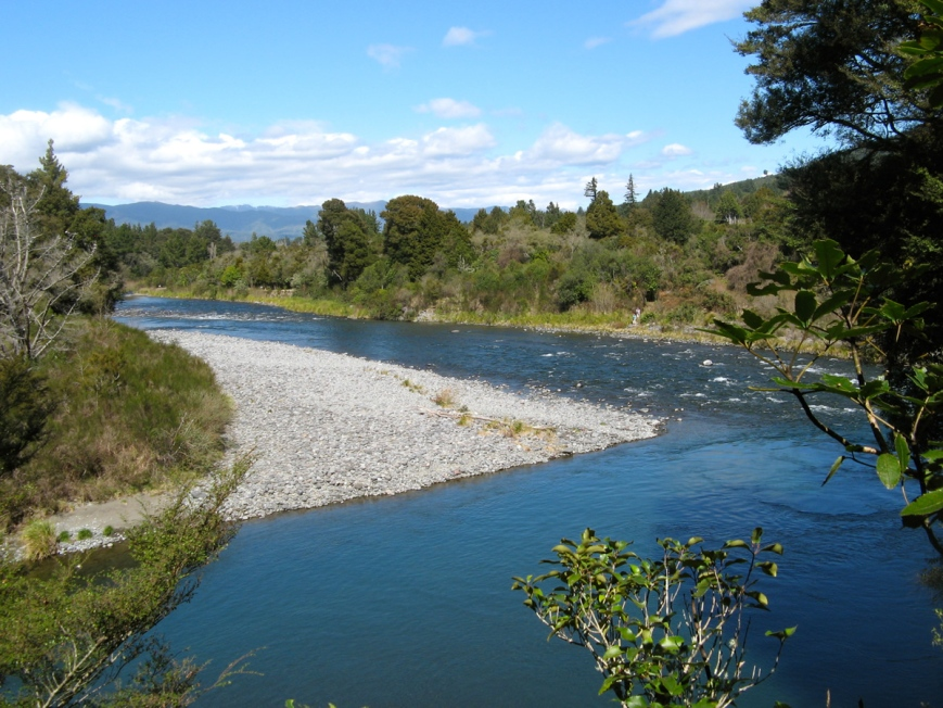 Tongariro river CR pool